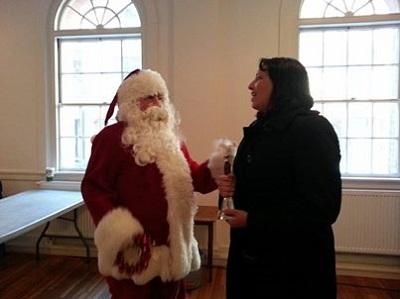 Santa & Mayor