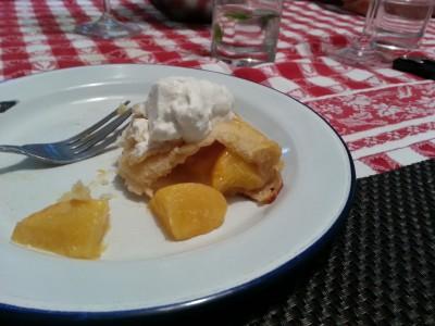 Peach Thyme Galette