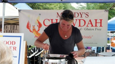 Fishwives - Mandy's Chowdah - cred Barb Taylor