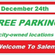 You Can Get Something For Free--- Parking in Salem on the 24th