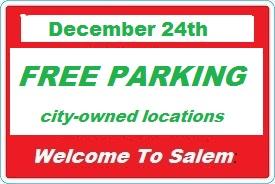 Free Salem parking