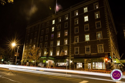 Hawthorne Hotel by Night