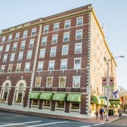 By Day or Night, Hawthorne Hotel Shines; Celebrates 90th Year with Big Bash