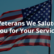 Stand Up & Be Counted in Support of Veterans