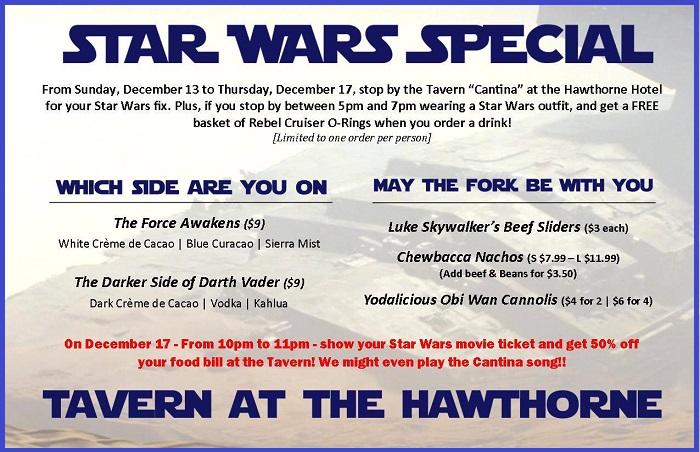 Star Wars at  Hawthorne
