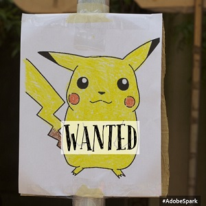pokemon wanted