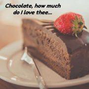Chocolate & Wine Are Fine for a Valentine