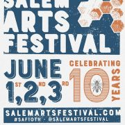 Not So Secret Handshake in Salem: Volunteers and Arts Festival