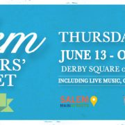 Salem Farmers Market 2019 Opens June 13!