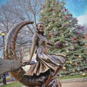 Salem Holiday Tree at Lappin Park is complete!